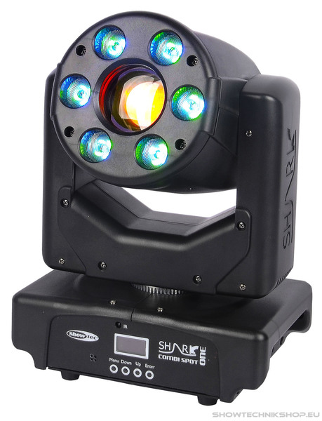 Showtec Shark Combi Spot One 30 W + 6xRGBW